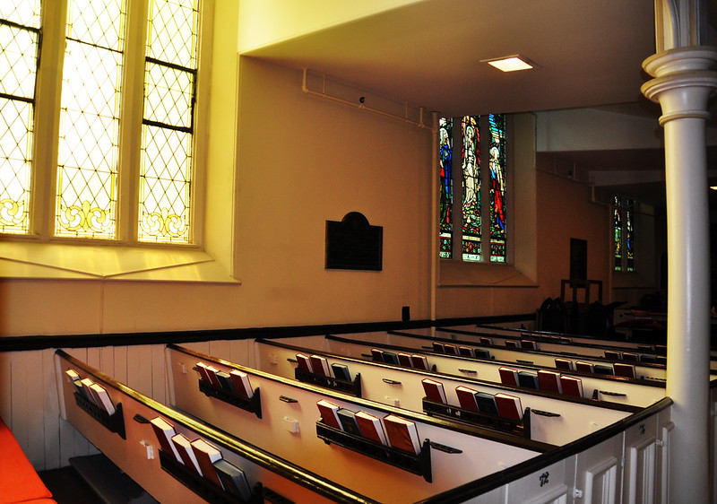 Inside St. Matthew's United Church