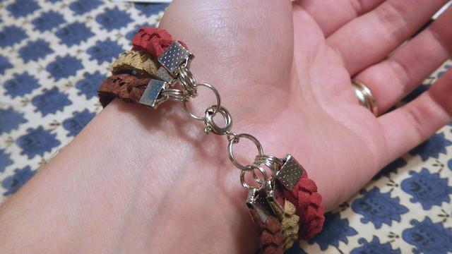 Braided Suede Bracelet 7