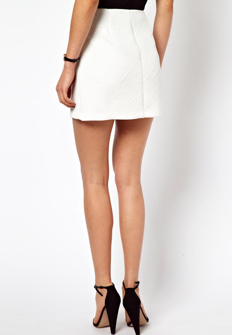 ASOS Mini Skirt with Wrap Detail
