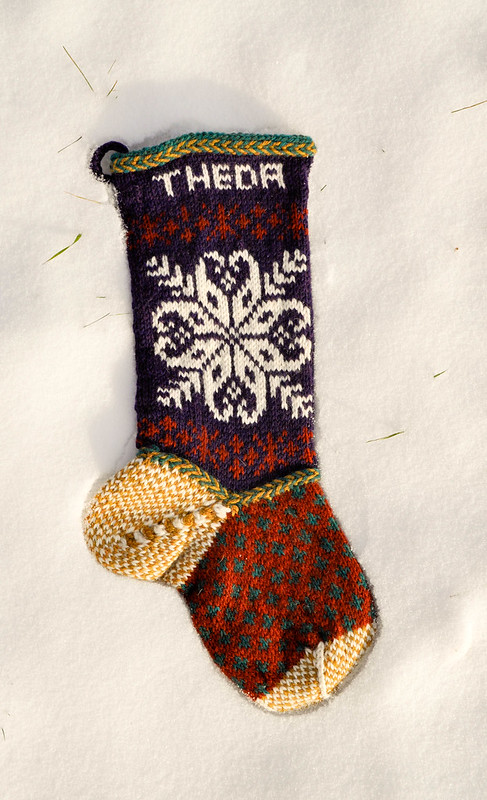 Theda's Stocking