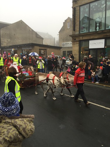 Lindley Reindeer Parade