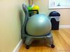 311:365 - 11/17/2014 - Balance Ball Chair