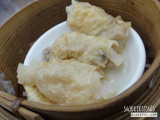 lin heung tea house beancurd skin