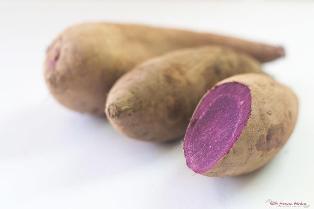 Purple Sweet Potato Haupia Pie via LittleFerraroKitchen.com