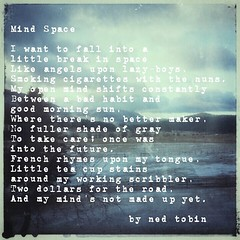 Because poetry and art at 2AM. Where's your mind space? #poem #poetry #poetryisart #art