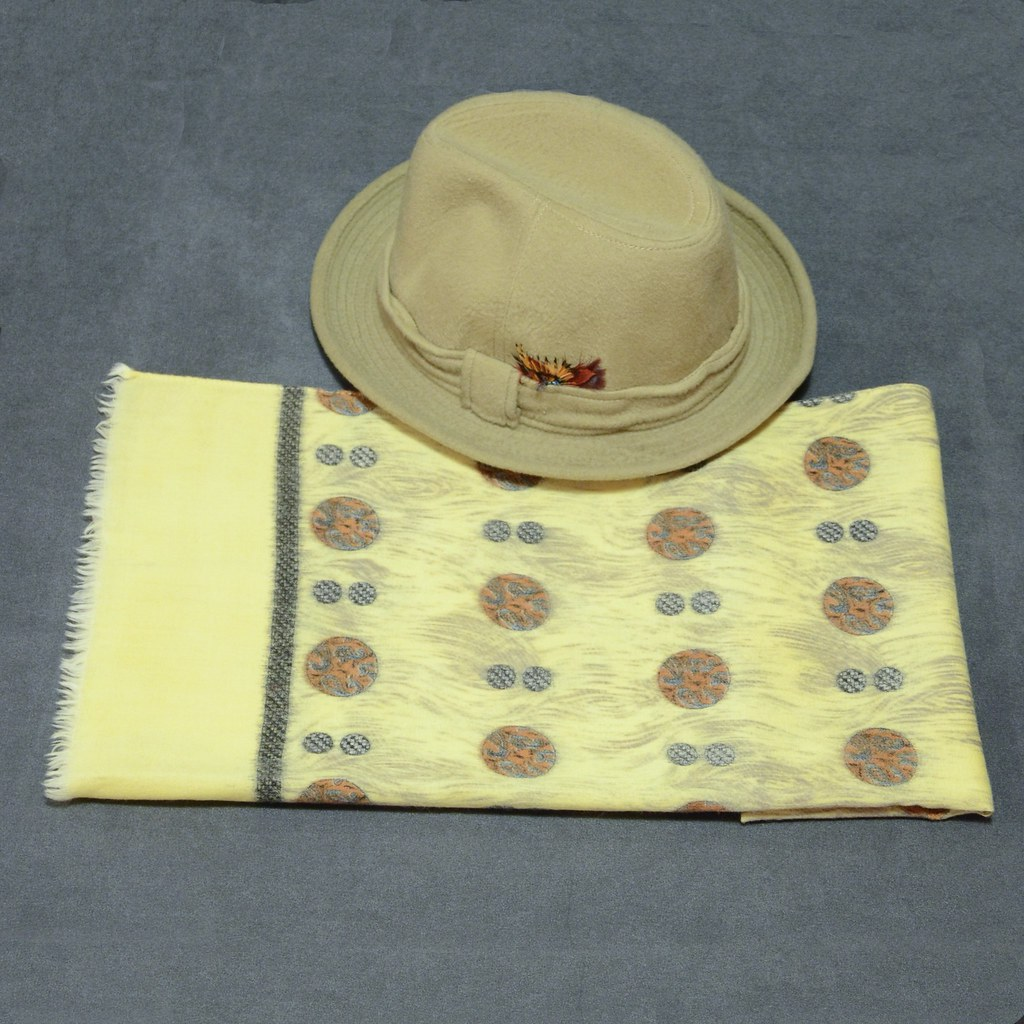 Wool Scarf - Pescetto Cashmere Hat