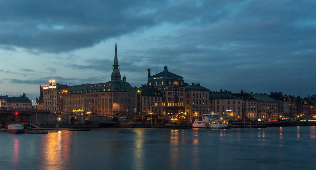 Blue Hour, Stockholm