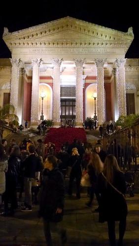 Palermo Teatro Massimo Natale 2014