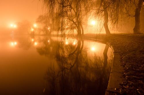 park fog night lens landscape long exposure sony le sorin romania kit prc bucharest bucuresti nex mutu tineretului mirrorless 1650mm a6000 outstandingromanianphotographers mutusorin