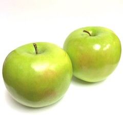 green, produce, fruit, food, granny smith, apple,