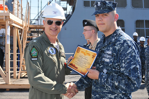 USS New Orleans Launches Enlisted Information Dominance Warfare Specialist Program