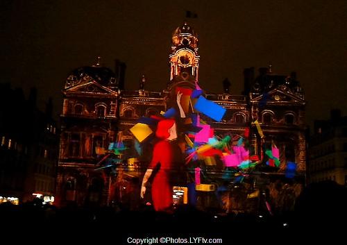 Fête+des+lumières+Hôtel+de+Ville+Lyon