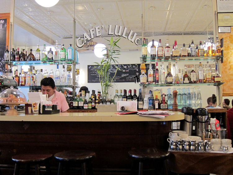Where to Eat in Brooklyn Cafe Luluc