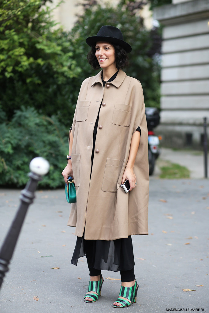 Yasmin Sewell at Paris fashion week