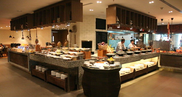 Cafe BLD serves breakfast, lunch and dinner buffets at the Renaissance