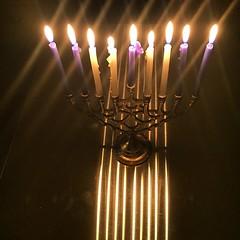 Happy #8thnight of Channukah חג חנוכת שמח! #HappyHannukah #חגשמח #hanukah #hannukah #chanukah #xanuka #channukkah #chanukka #chanukkah #hanukkah #israel #חנוכה #yisrael #jewish #repost #i6 #nonfilter #menorah #fire #holytemple #eightcrazynights #oil #hebr