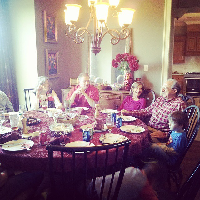 Christmas is never dull with my Great Uncle Mike. Always keeps us laughing. #MboysChristmas2014