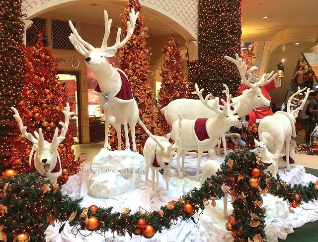 Beautiful Reindeers at Powerplant