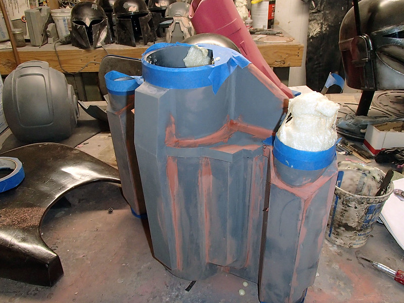 Jetpack Side Tank Filled With Foam