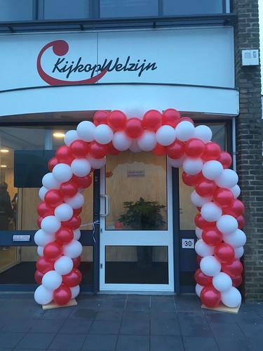 Ballonboog 5m Kijk op Welzijn Barendrecht