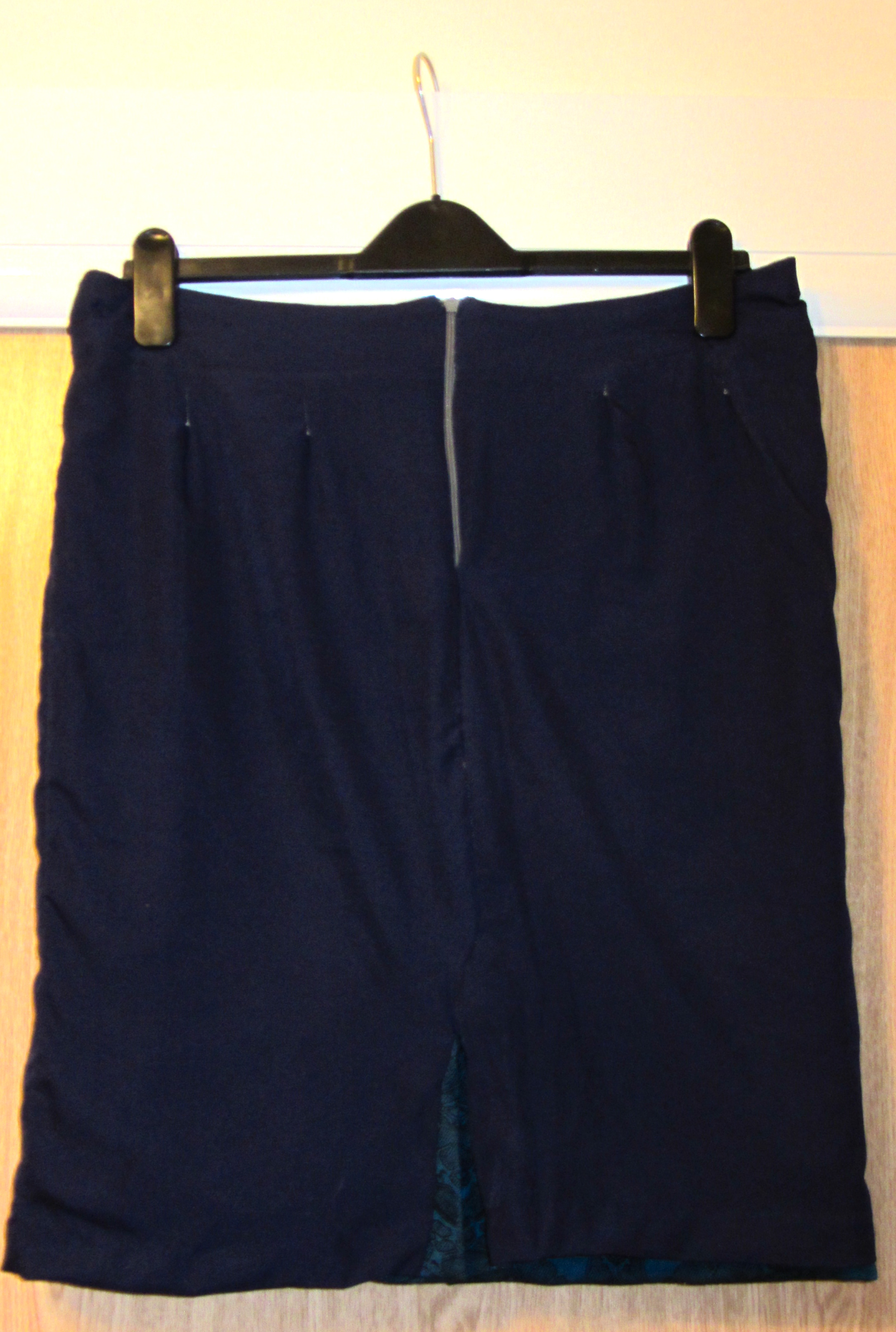 Self drafted pencil skirt inside