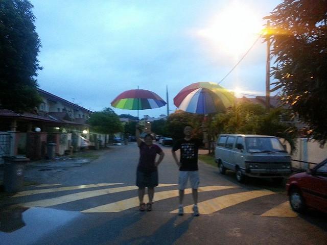 为了有个彩虹日。早安