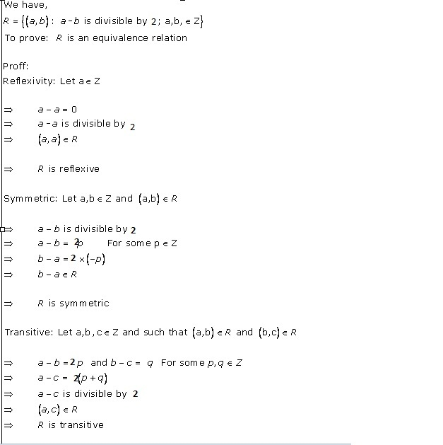 RD Sharma Class 12 Solutions Chapter 1 Relations Ex 1.2 Q2