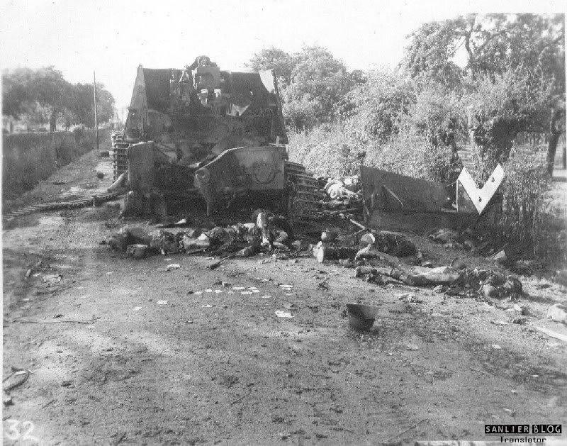 坦克战:活活烧死15