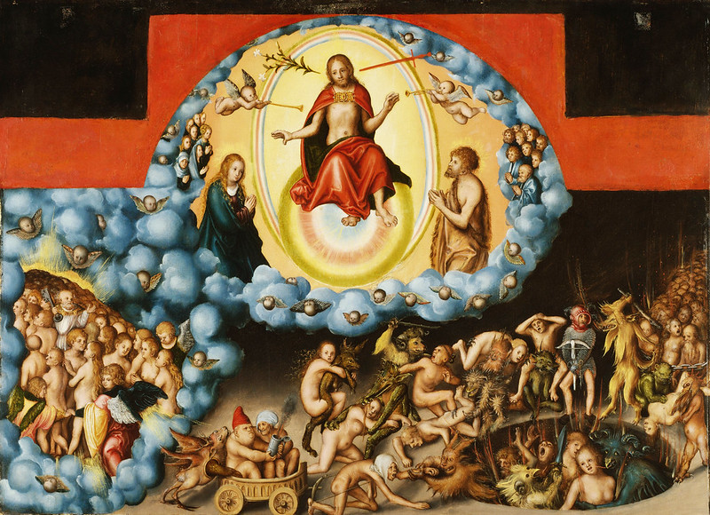 Lucas Cranach the Elder -  The Last Judgement, 1525-30