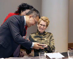 _MG_2680 Premier Kathleen Wynne made remarks at the Canada China Business Council Lunch.
