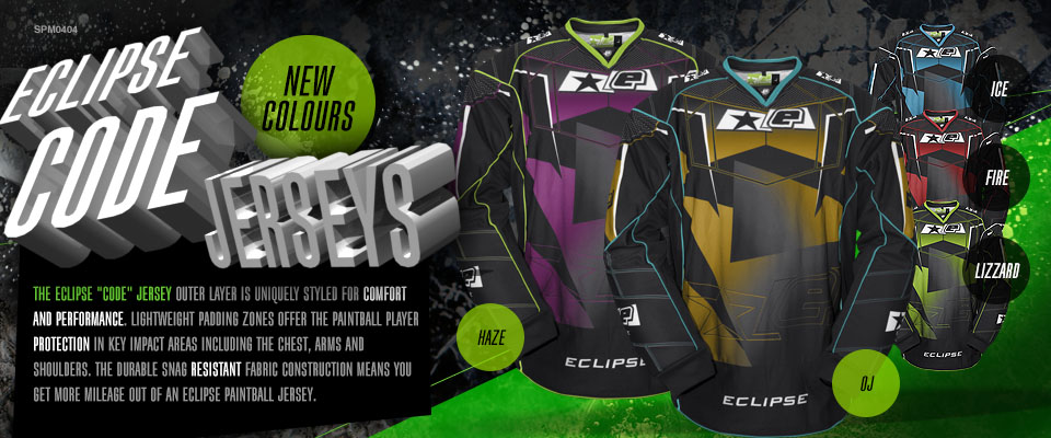 New Eclipse Code Jersey Colours!