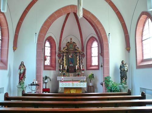 2. Innenansichten Kapelle