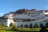 Biketour Lhasa-Kathmandu. Der Potala-Palast in Lhasa.