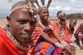 Besuch eines Massai-Dorfes beim Amboseli-Nationalpark. Foto: Günther Härter.