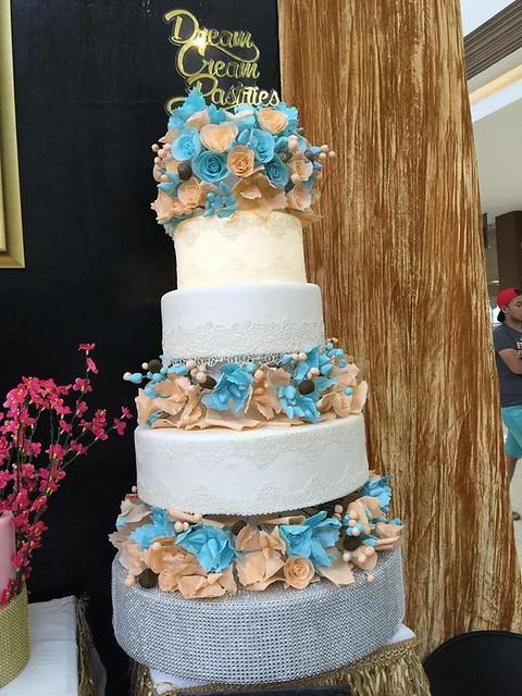 Whelyne Ann Davila's Beautiful Cake of Dream Cream Pastries