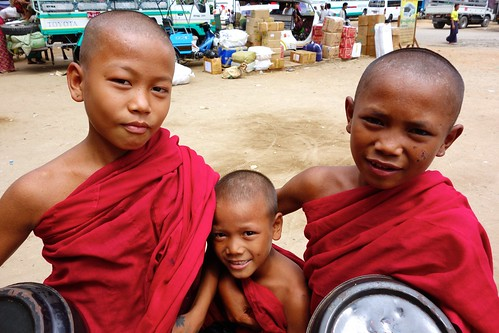 Monks in Monywa