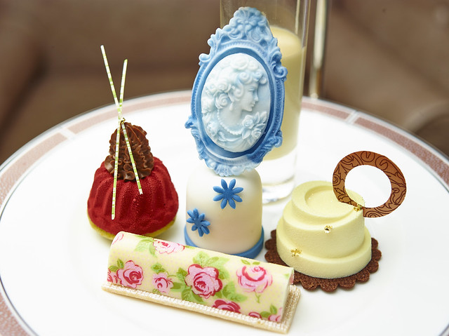 The Langham Afternoon Tea with Wedgwood - Close-Up