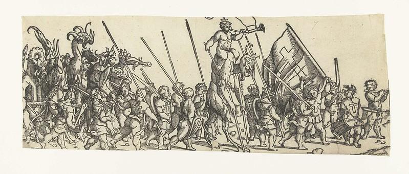 Monogrammist LIW - Children's Crusade (6) 1522 - 1532