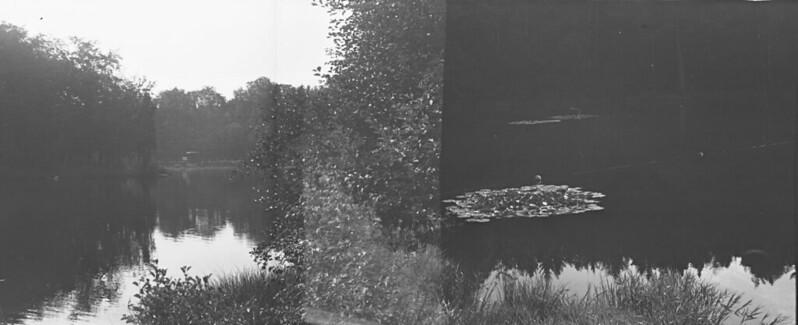 Teich (Teilweise Doppelbelichtung)