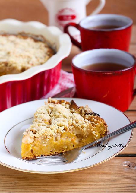 Pumpkin and apple cake