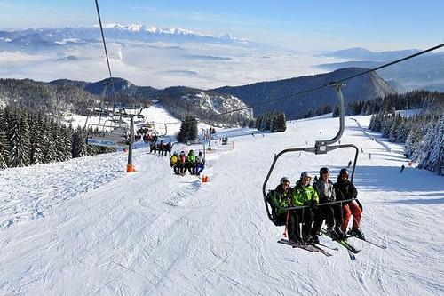 Panoramatické lyžování v RUŽOMBEROKU na Malině Brdu s 30% slevou