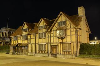william shakespeares birthplace