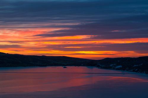 sunset landscape iceland pentax pentaxk5lls appicoftheweek