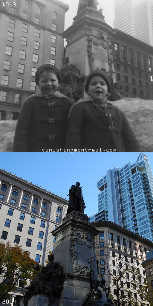 Before and After : Phillips Square