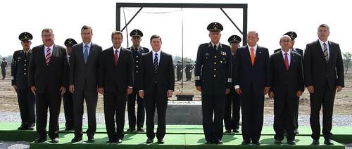 FTF en el arranque del nuevo Cuartel de la Policía Militar