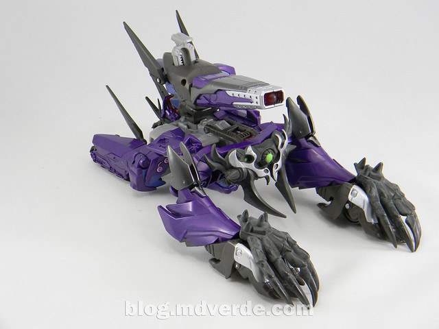 Transformers Hunter Shockwave Voyager - Transformers Go - modo altern