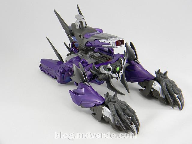 Transformers Hunter Shockwave Voyager - Transformers Go - modo altern