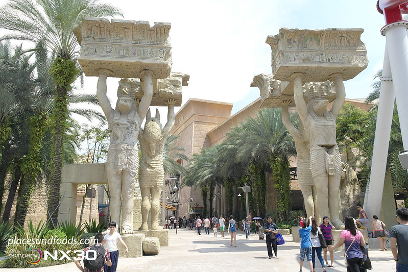 universal studio singapore ancient egypt