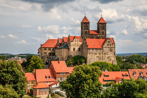 Old town of Quedlinburg (Germany), UNESCO world heritage