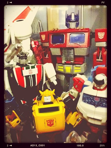 MP-20', MP-21 & iGear Optimus Prime